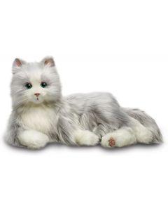JOY FOR ALL Silver Cat Robot Pet